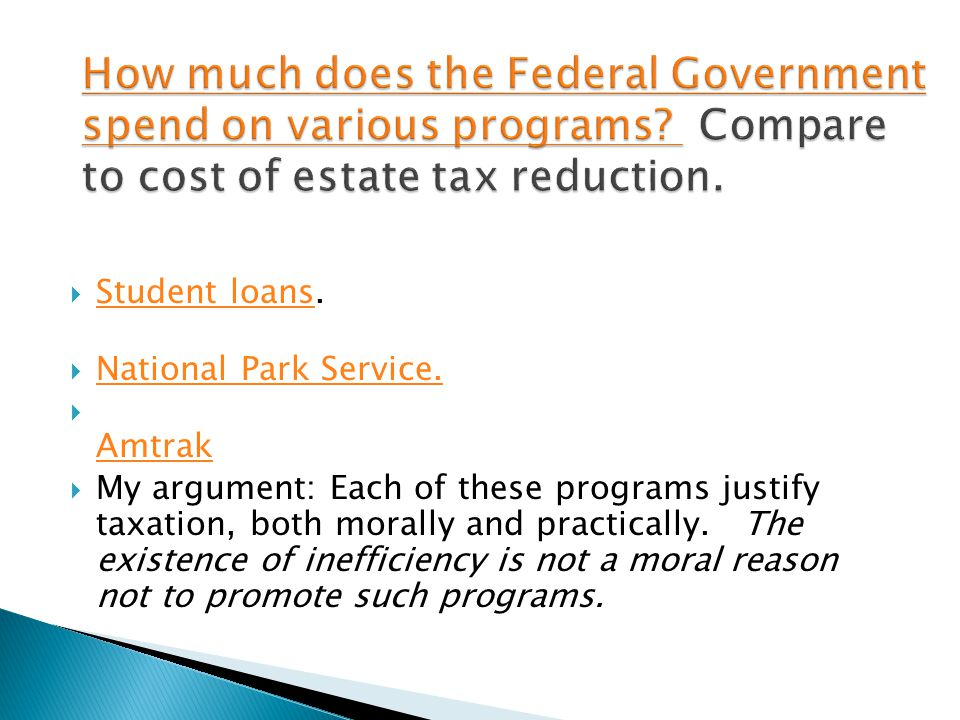  Student loans. Student loans  National Park Service.