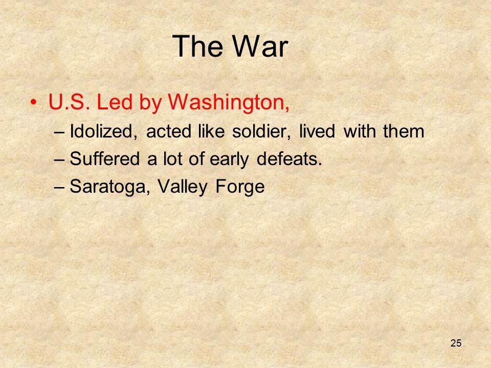 The War U.S.
