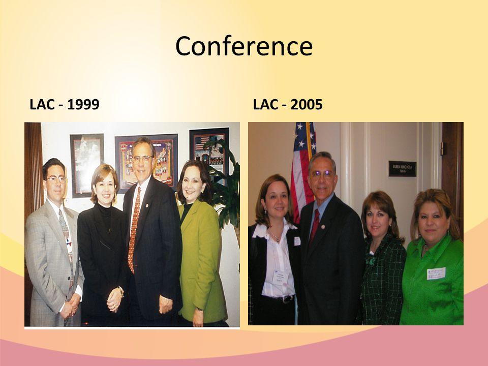 Conference LAC - 1999LAC - 2005