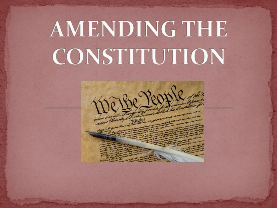 The Congress, whenever two thirds of both Houses shall deem it necessary, shall propose Amendments to this Constitution, or, on the Application of the Legislatures of two thirds of the several States, shall call a Convention for proposing Amendments, which, in either Case, shall be valid to all Intents and Purposes, as Part of this Constitution, when ratified by the Legislatures of three fourths of the several States, or by Conventions in three fourths thereof, as the one or the other Mode of Ratification may be proposed by the Congress.