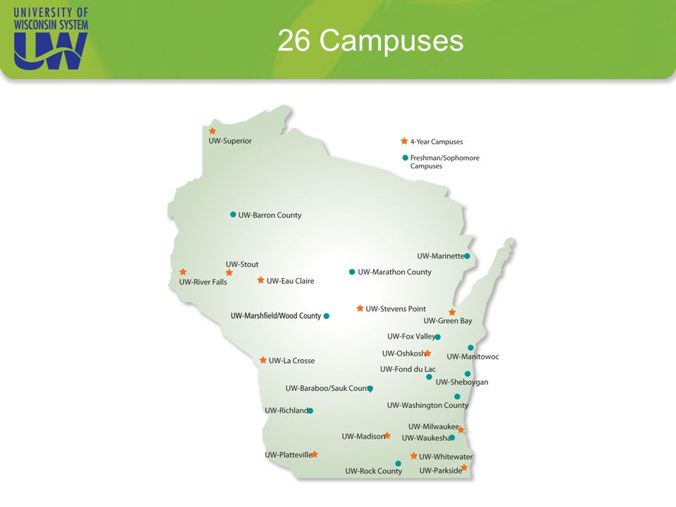 26 Campuses