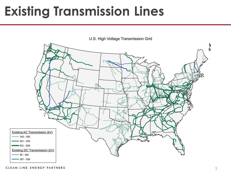 3 Existing Transmission Lines