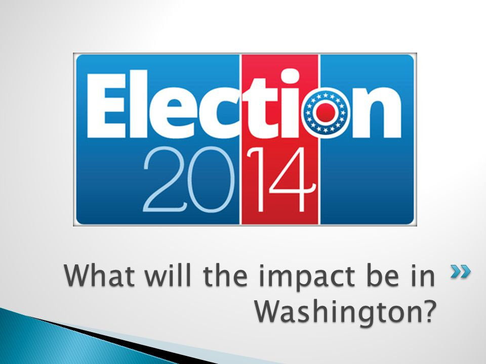 What will the impact be in Washington?