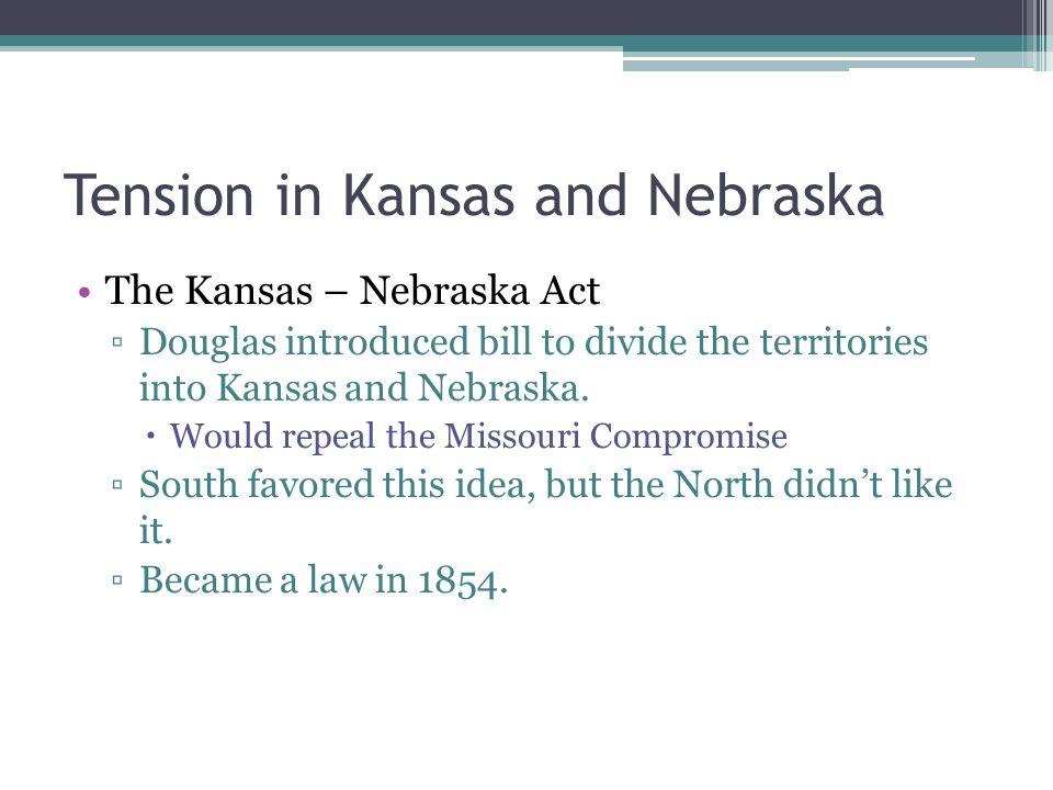 Bleeding Kansas March 1855 Kansas had enough settlers to hold an election for territorial legislature.