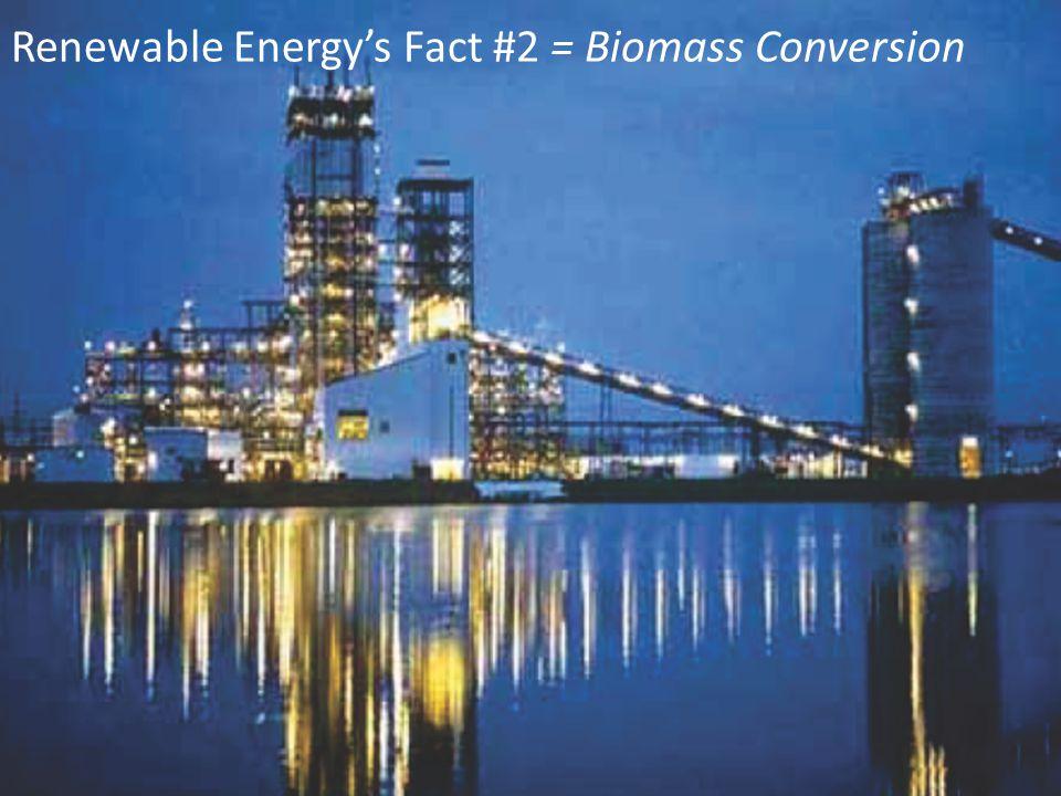 West African Deepwater Development Scheme Renewable Energy's Fact #2 = Biomass Conversion