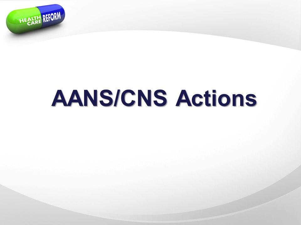 AANS/CNS Actions
