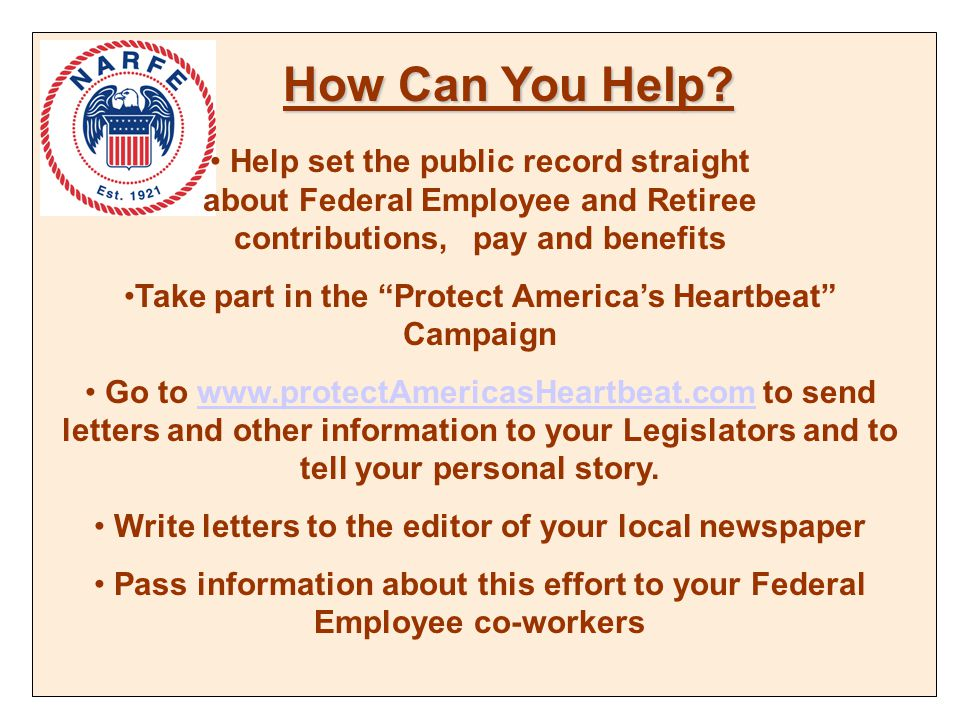 How Can You Help.