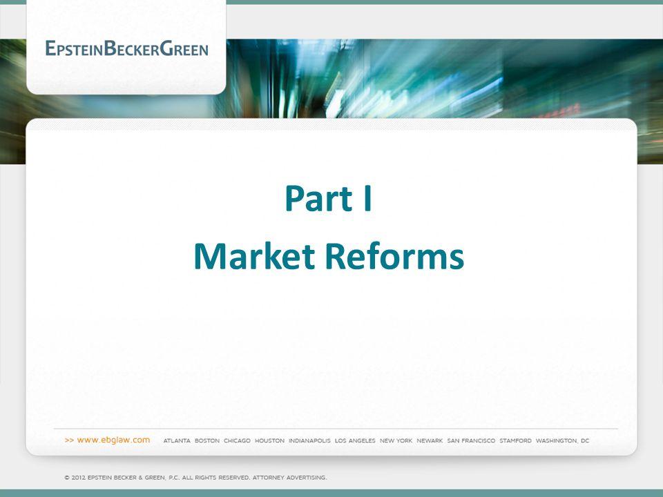 Part I Market Reforms