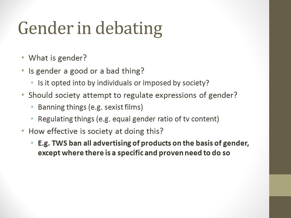 Sexuality in debating Is sexuality individually or socially constructed.