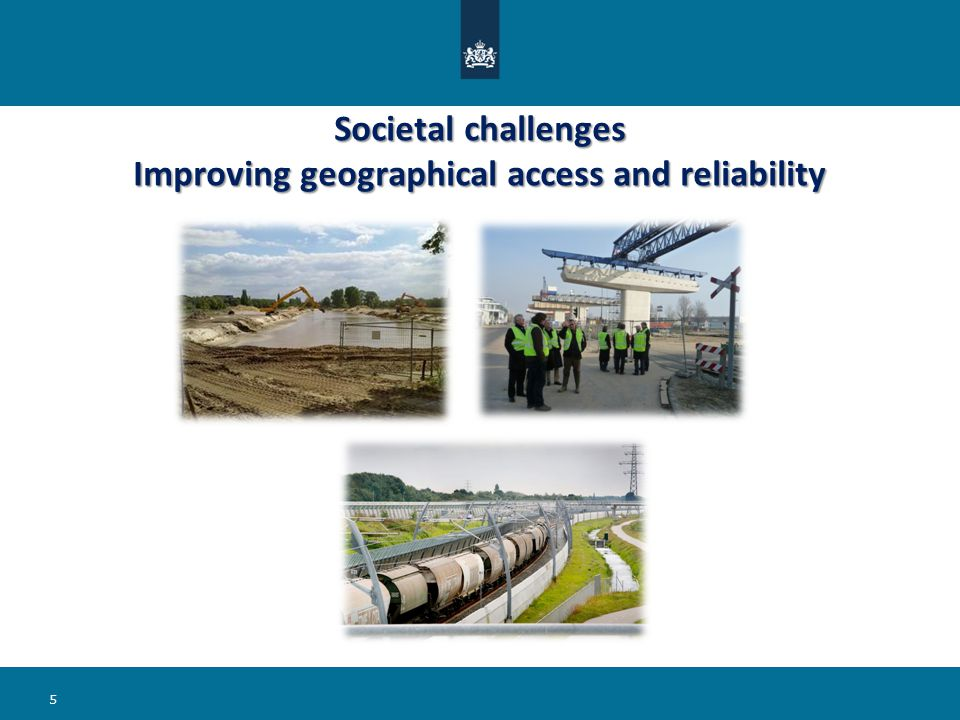 Societal challenges Improving geographical access and reliability 5