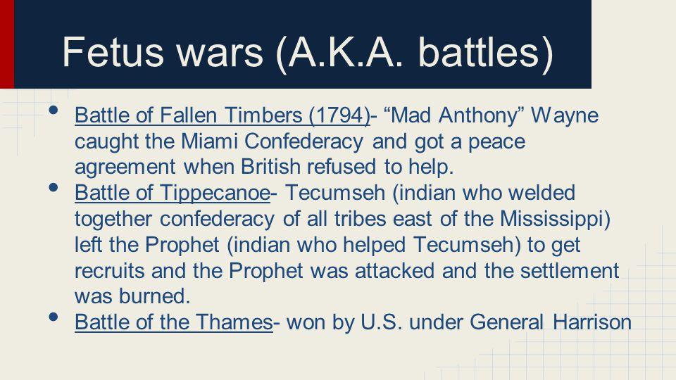Fetus wars (A.K.A.