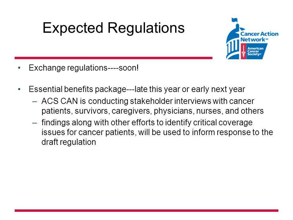 Expected Regulations Exchange regulations----soon.