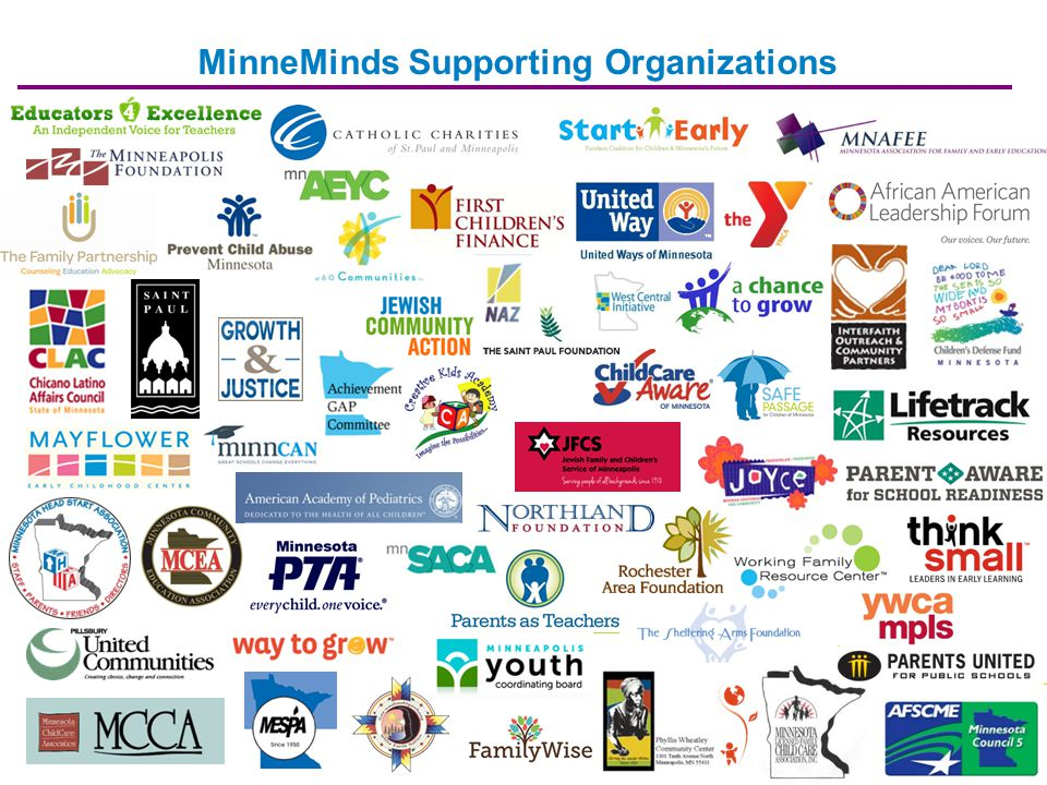 MinneMinds Supporting Organizations