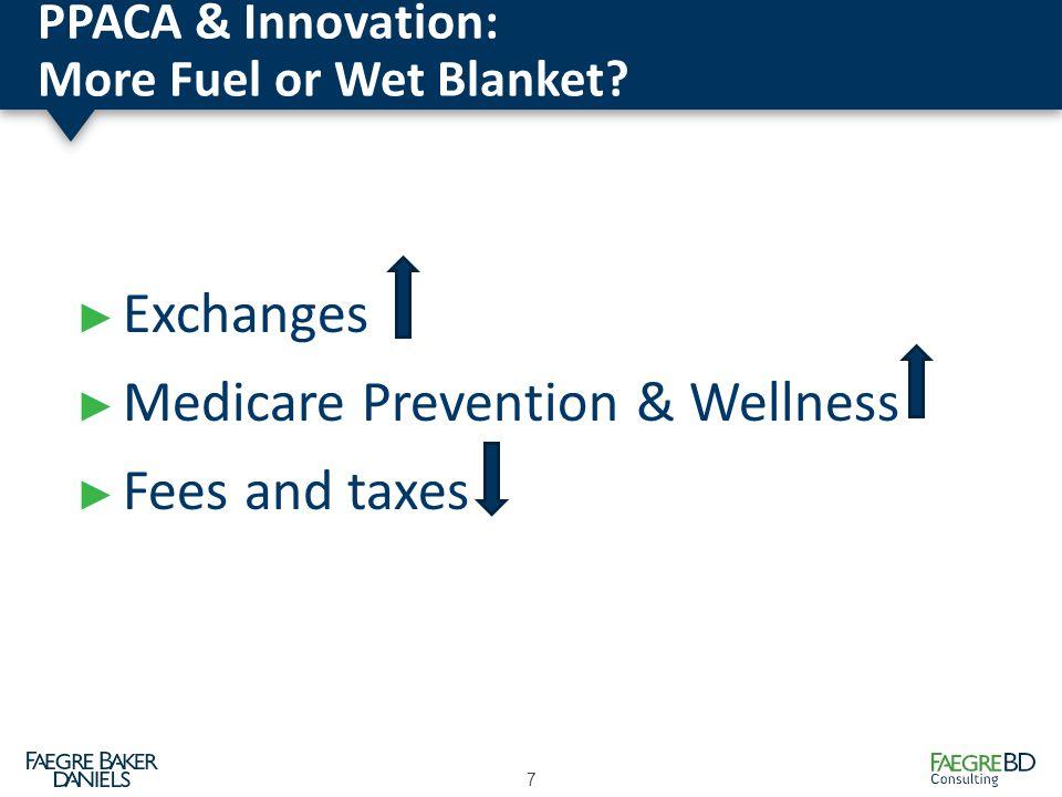 PPACA & Innovation: More Fuel or Wet Blanket.