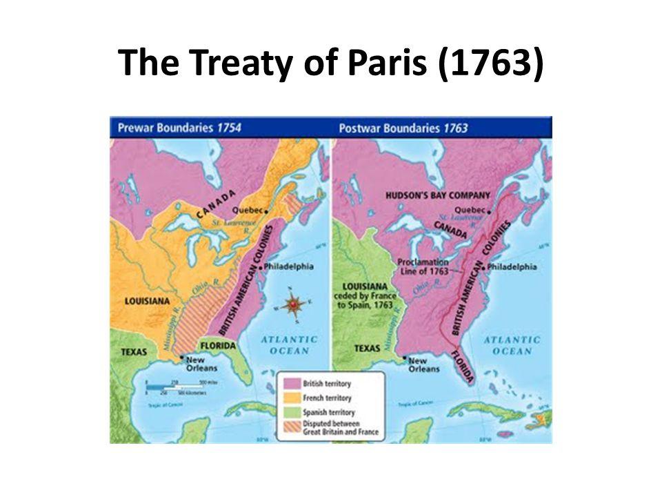 The Treaty of Paris (1763)