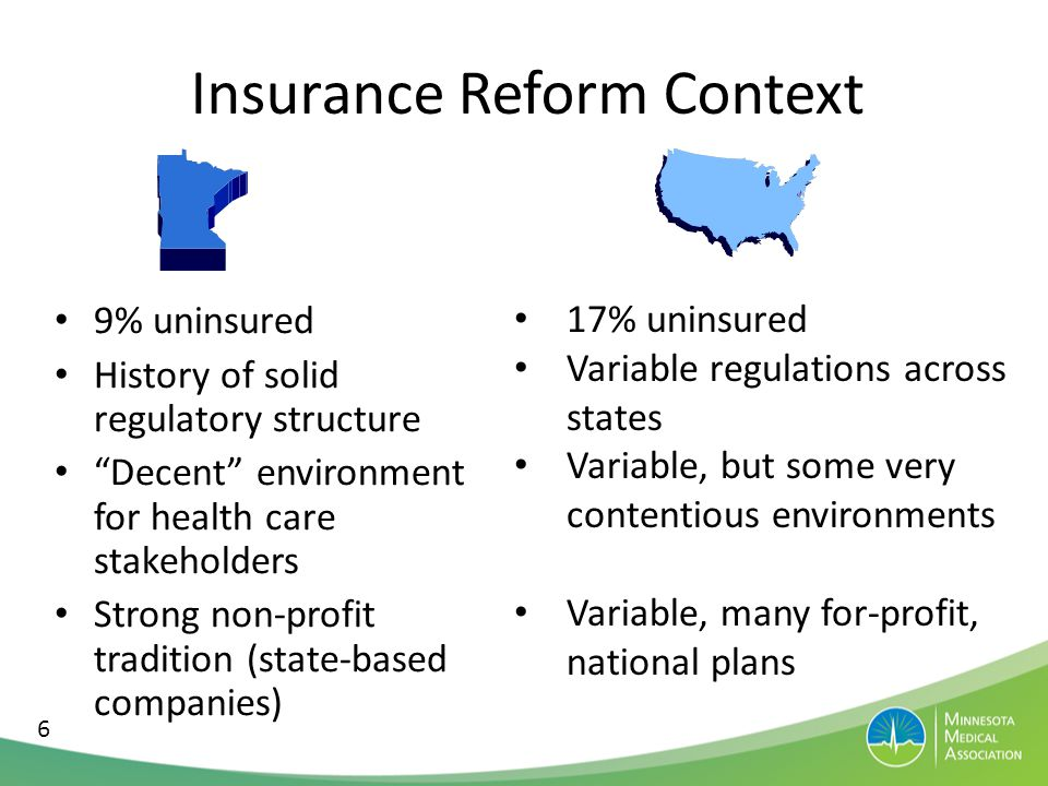ACA Insurance Coverage Estimated to provide coverage for 33 million of the 55 million uninsured 3 specific ways 1.Individual Mandate a)Employer Participation 2.Insurance Exchange w/ low-income subsidies 3.Medicaid Expansion 7