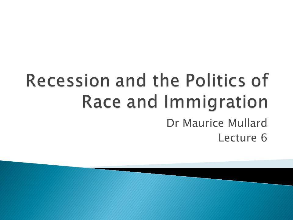 Dr Maurice Mullard Lecture 6