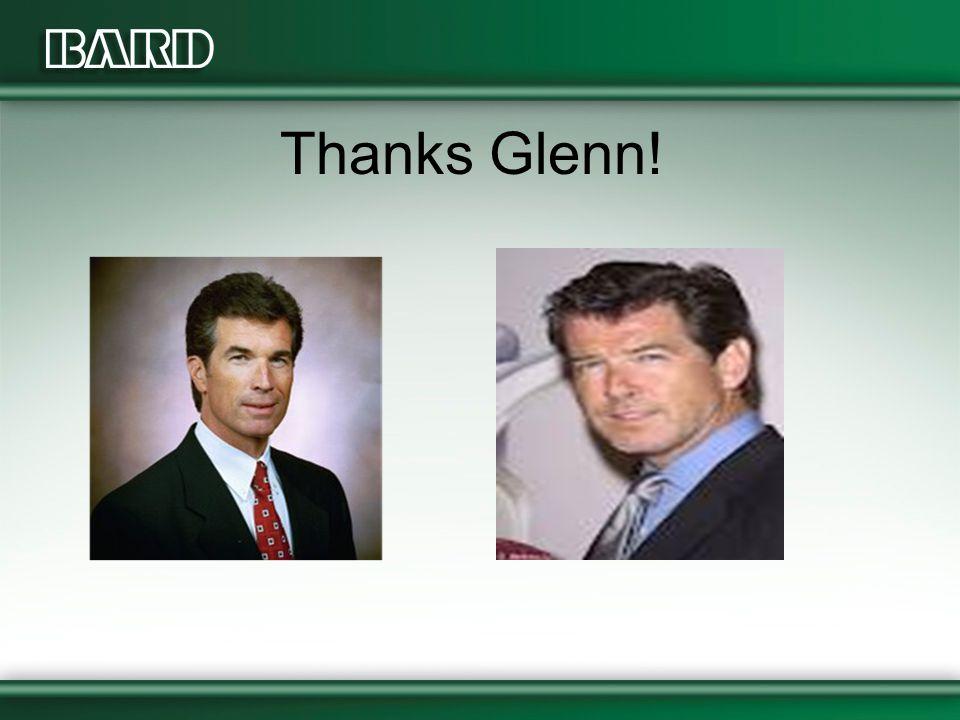 Thanks Glenn!