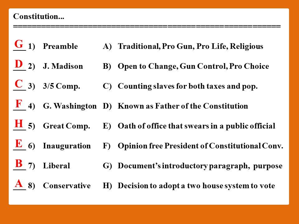 Constitution...