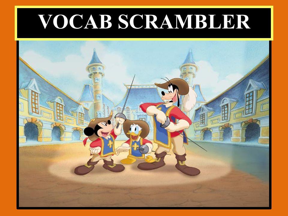 VOCAB SCRAMBLER