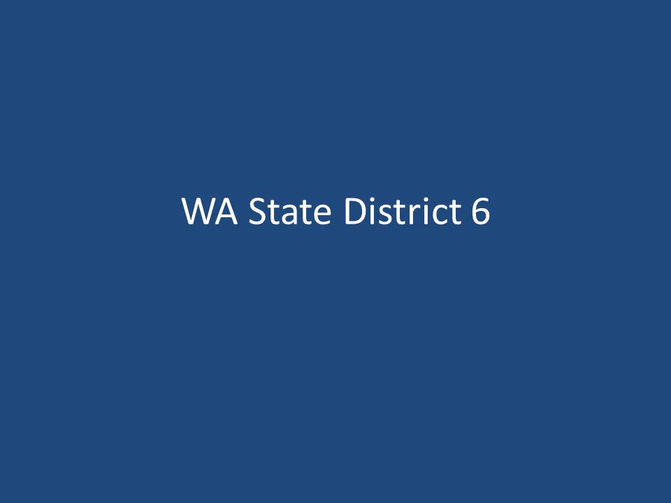 WA State District 6
