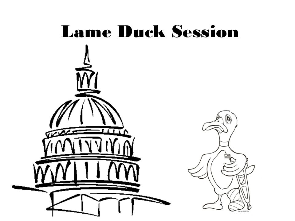 Lame Duck Session