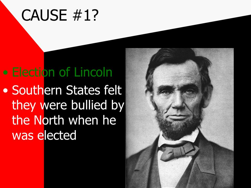 The Election of 1860 The presidential election of 1860 further demonstrated the division between the North and the South. National political parties n