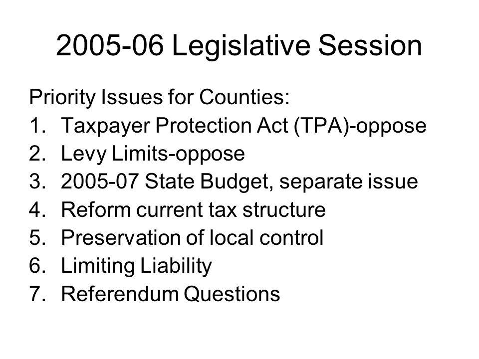 Contact Information Matt Stohr Wisconsin Counties Association 22 E.