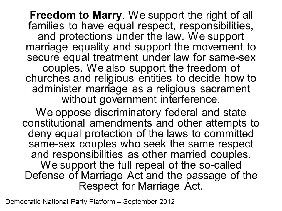 Freedom to Marry.