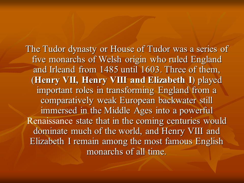 Henry VII Henry VII, son of Edmund Tudor and Margaret Beaufort, was born in 1457.