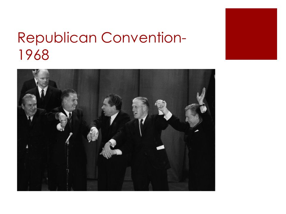 Republican Convention- 1968