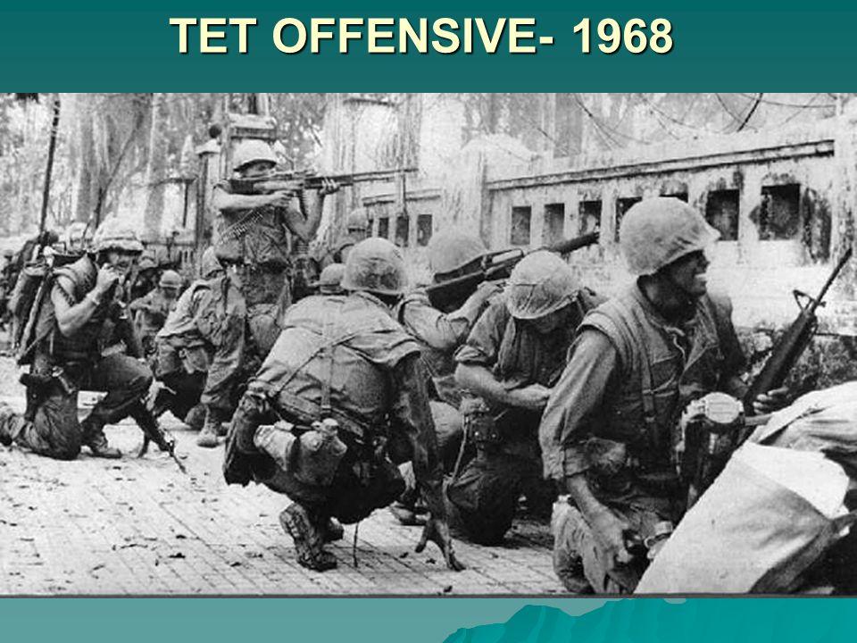 TET OFFENSIVE- 1968