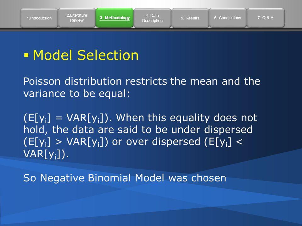 1.Introduction 2.Literature Review 2.Literature Review 3. Methodology 4. Data Description 4. Data Description 7. Q & A 5. Results 6. Conclusions  Mod