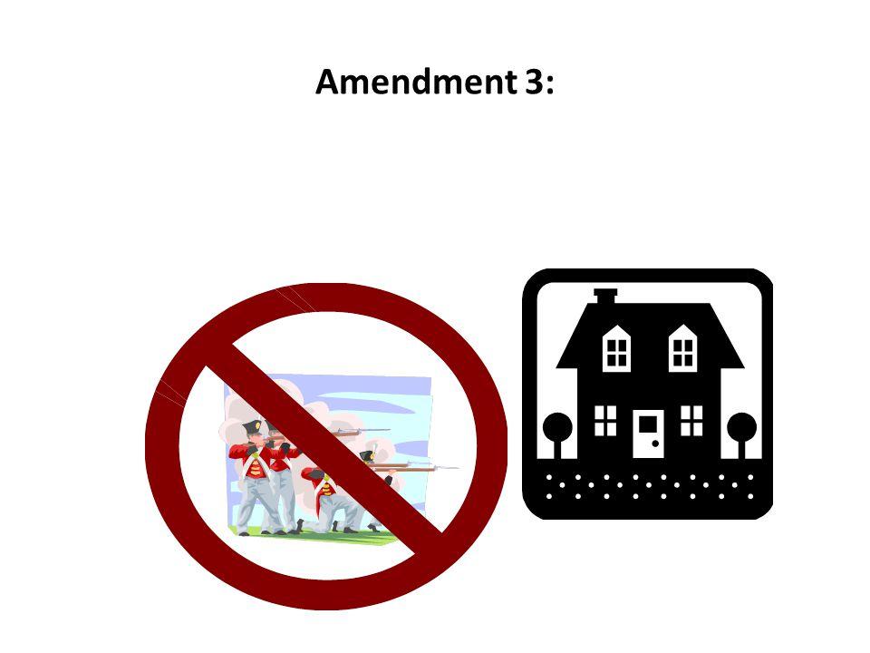 Amendment 3: