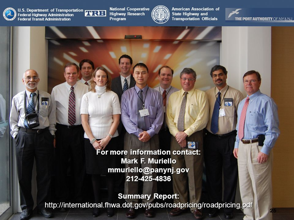 National Cooperative Highway Research Program American Association of State Highway and Transportation Officials U.S.