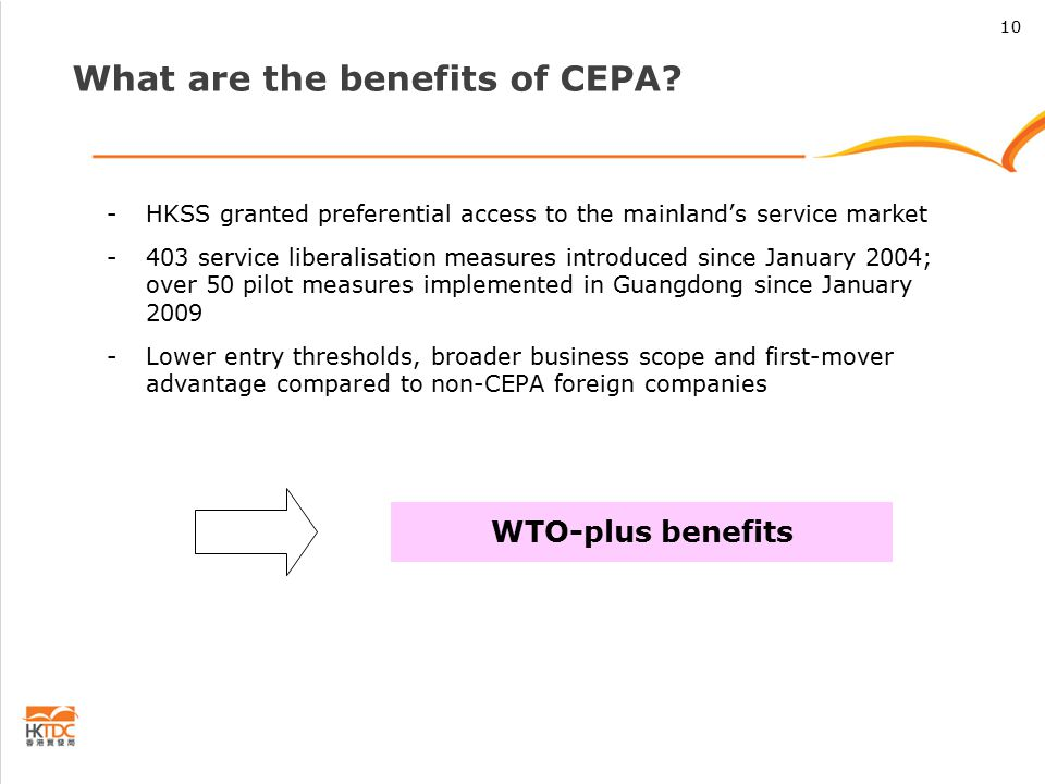 What are the benefits of CEPA.