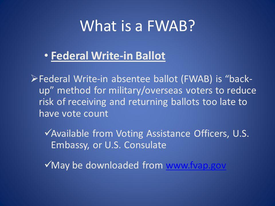 What is a FWAB.
