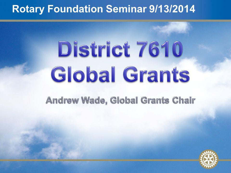 2 Agenda Why Use the Global Grant.