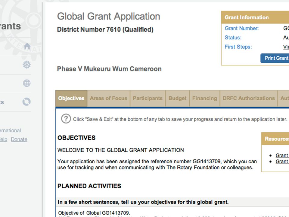 17 Global GrantsSlide 17