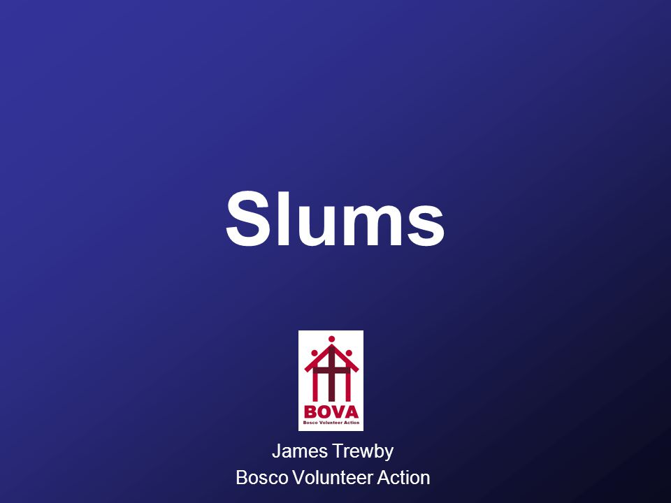 Development Cities Without Slums action plan By 2020, to have achieved a significant improvement in the lives of at least 100 million slum dwellers as proposed in the Cities Without Slums initiative. Target 11 of the Millennium Development Goals But how.