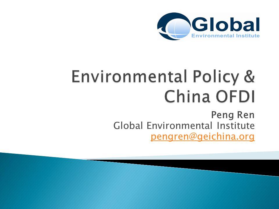 Peng Ren Global Environmental Institute pengren@geichina.org