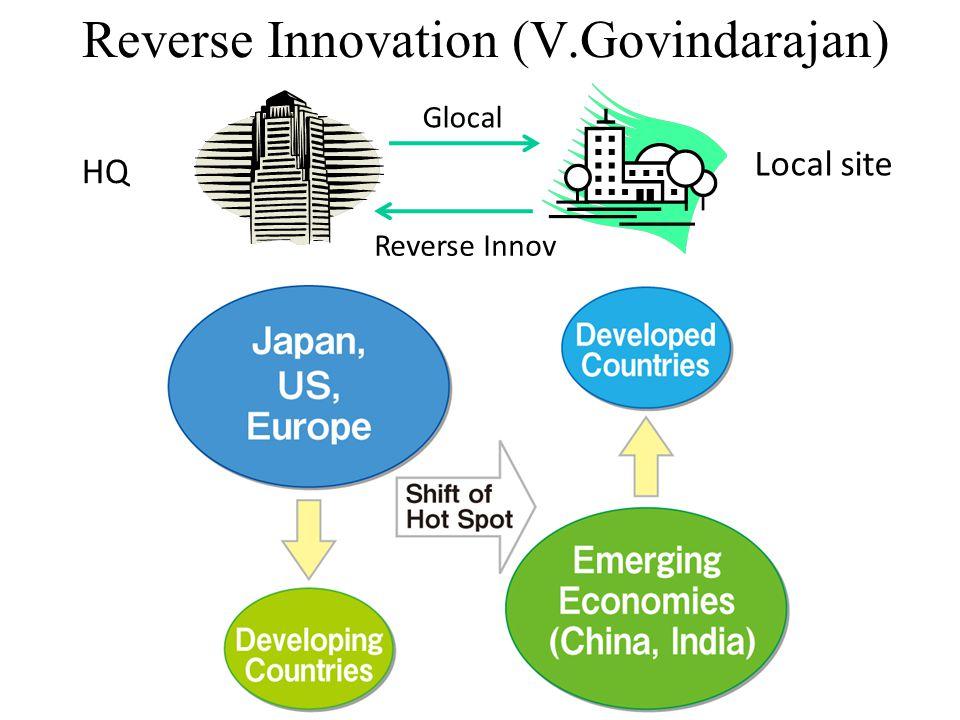 Reverse Innovation (V.Govindarajan) HQ Local site Glocal Reverse Innov