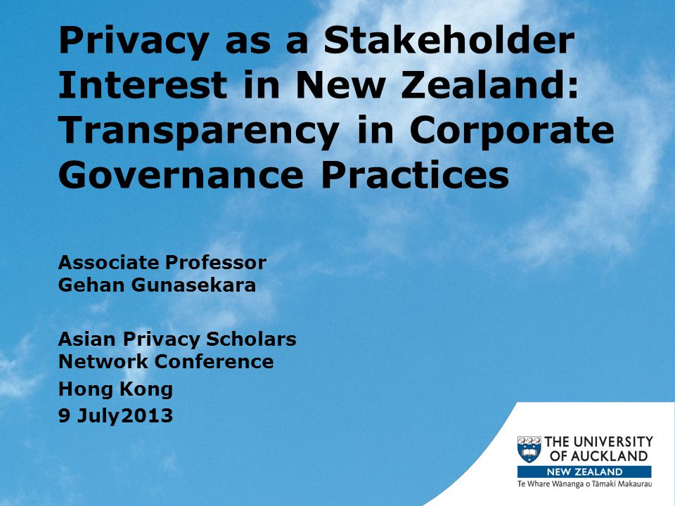 Introduction Privacy public issue in NZ –E.g.ACC, WINZ breaches, IRD Business vulnerable –E.g.