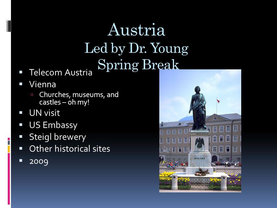Austria Led by Dr.