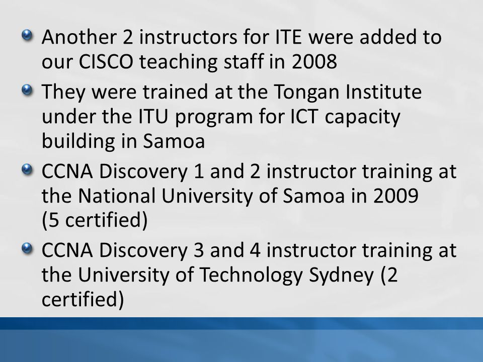 In total, there are only 3 instructors running the operation now at NUS Instructor training needed for more instructors