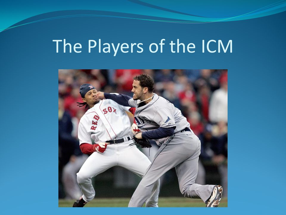 The Players of the ICM