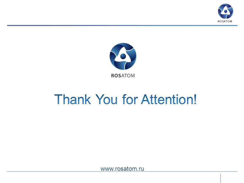 www.rosatom.ru ROSATOM