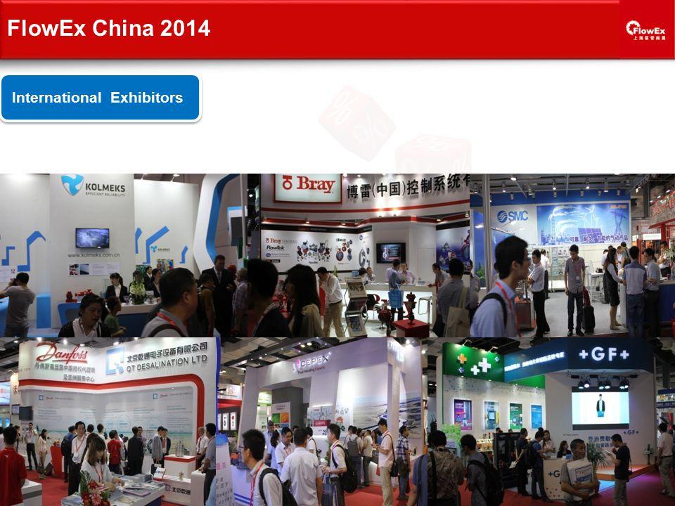International Exhibitors FlowEx China 2014