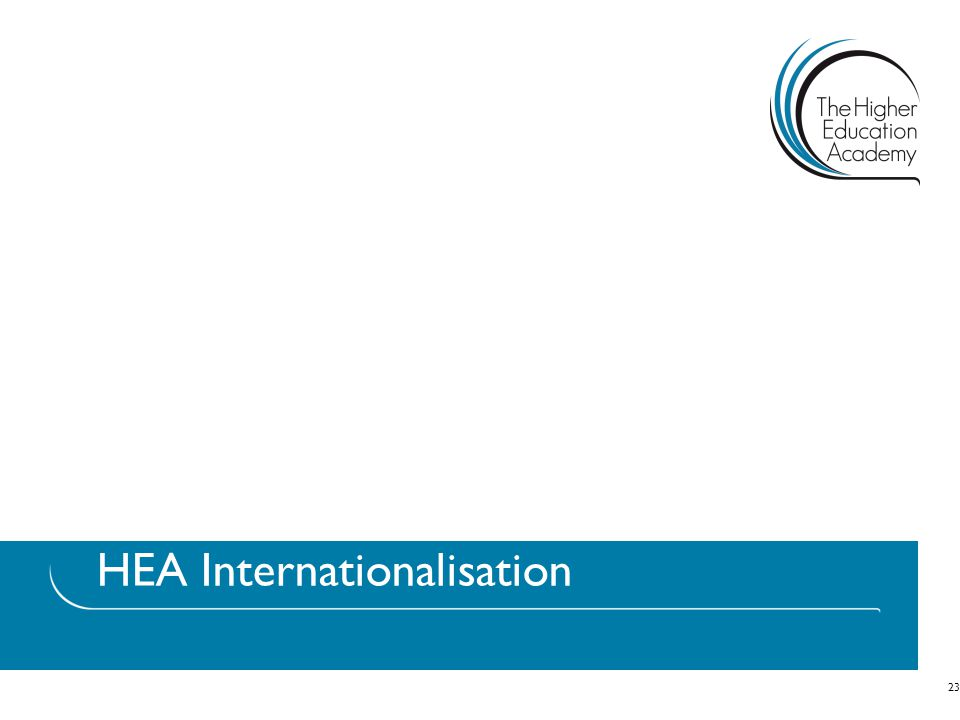 HEA Internationalisation 23