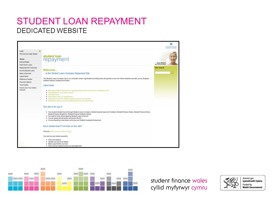 STUDENT LOAN REPAYMENT DEDICATED WEBSITE
